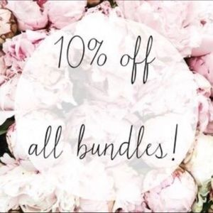 Other - 10% off bundles of 2 or more!